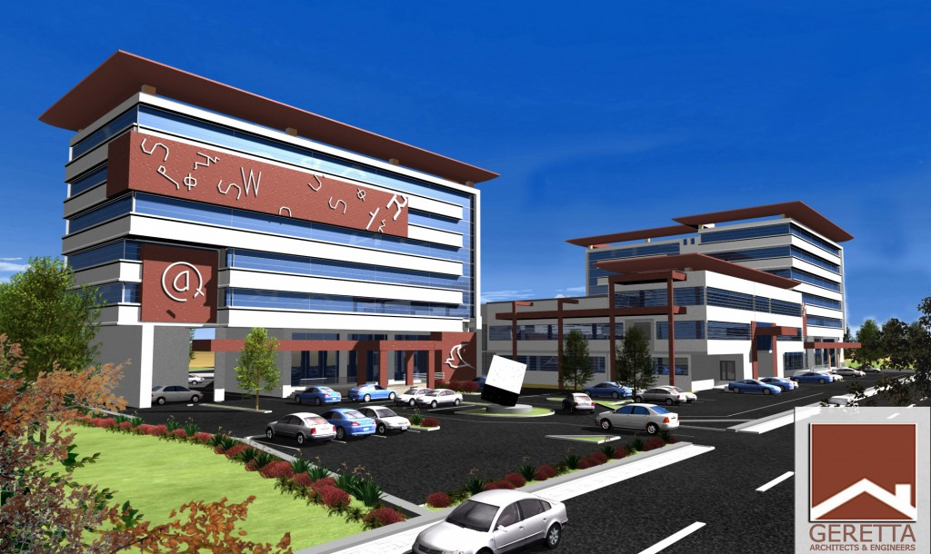 Walta Information Center Addis Ababa Render left 1 Geretta1 1024x610 - OUR PORTFOLIO
