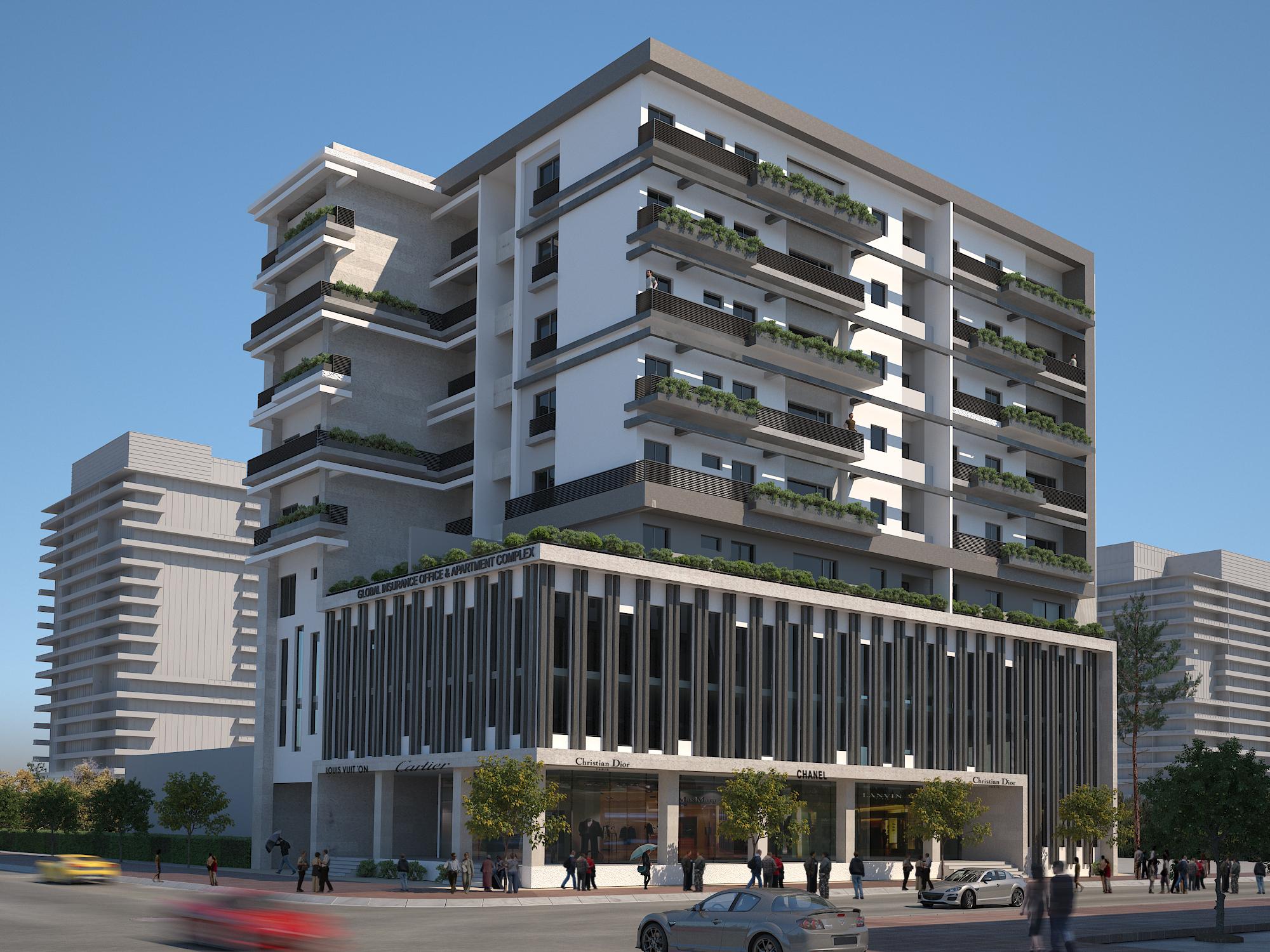 Global 1 - Global Insurance Apartment Complex