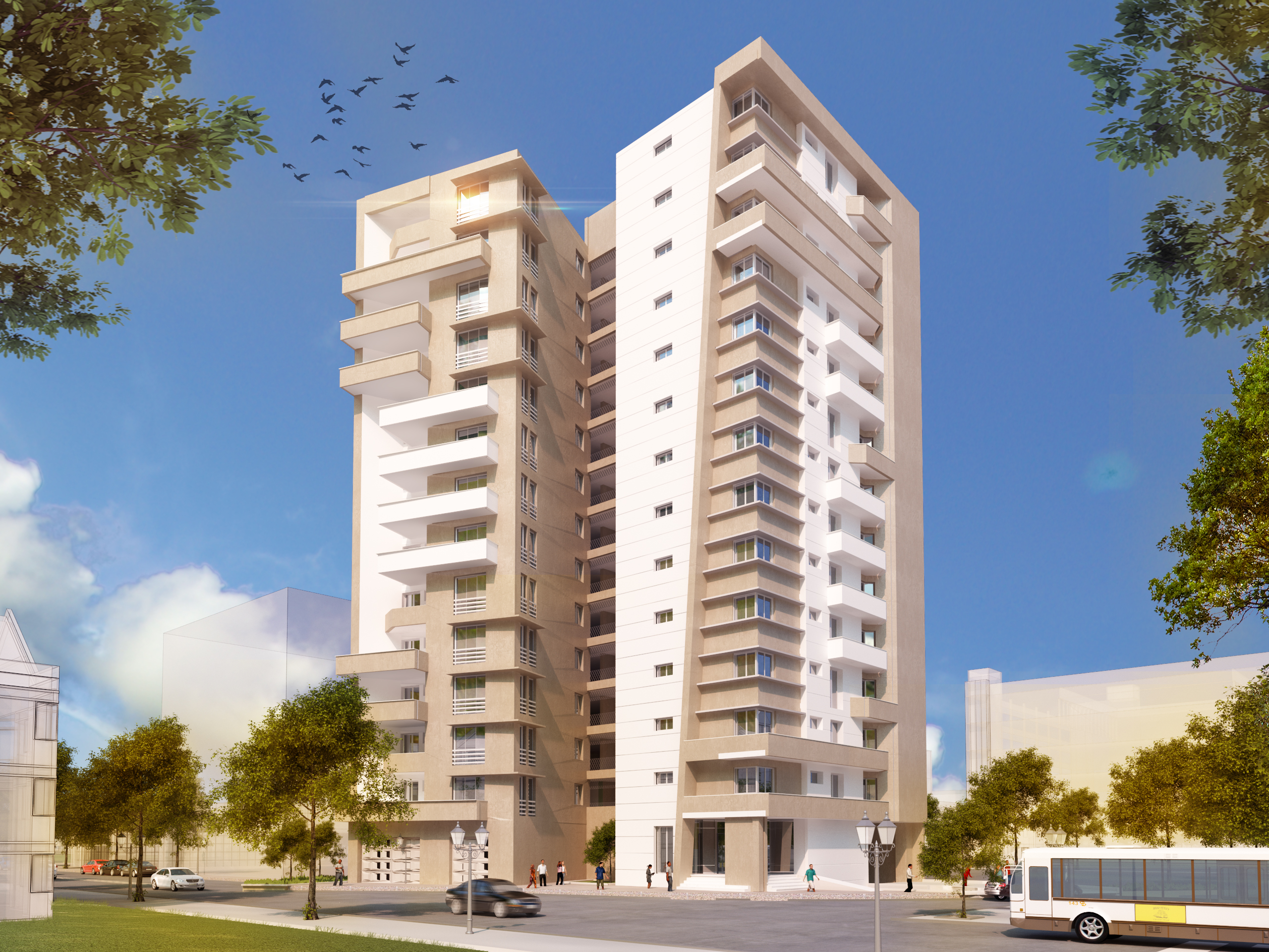 1 10 1 - Apartment Complex